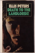 Books:Mystery & Detective Fiction, Ellis Peters. Death to the Landlords! [London]: Macmillan,[1972]. First edition. Octavo. 221 pages. Publisher's bin...