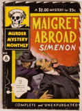 "Books:Mystery & Detective Fiction, Georges Simenon. Maigret Abroad. Two Complete MaigretMysteries in This Volume. A Crime in Holland; At the ""Gai-Mo..."