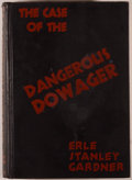 Books:Mystery & Detective Fiction, Erle Stanley Gardner. The Case of the Dangerous Dowager. NewYork: Morrow, 1937. First edition. Octavo. 303 page...