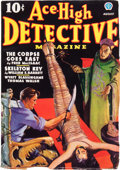 Pulps:Detective, Ace-High Detective Magazine V1#1 (Popular Publications, 1936)Condition: FN-....