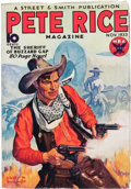 Pulps:Western, Pete Rice Magazine V1#1 (Street & Smith, 1933) Condition: FN-....