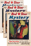 Pulps:Horror, Red Star Mystery Group (Frank A. Munsey Company, 1940) Condition: Average VG.... (Total: 3 )