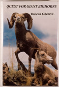 Books:Americana & American History, Duncan Gilchrist. SIGNED LIMITED EDITION. Quest for GiantBighorns. [Corvallis: Outdoor Expeditions, 1994]. First ...