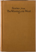 Books:Americana & American History, Theodore Roosevelt. Stories from The Winning of the West1769-1807. New York: Putnam's, 1920. First edition of this ...