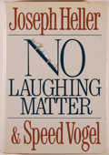 Books:Biography & Memoir, Joseph Heller & Speed Vogel. SIGNED. No Laughing Matter.New York: Putnam's, [1986]. First edition. Signed by ...