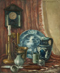 Fine Art - Painting, American, ELSIE PALMER PAYNE (American, 1884-1971). Heirlooms, 1941. Oil on canvas. 23-1/2 x 19-1/2 inches (59.7 x 49.5 cm). Signe... (Total: 1 Pieces)