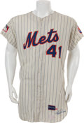 Baseball Collectibles:Uniforms, 1969 Tom Seaver World Series Game Worn New York Mets Jersey....