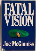 Books:Americana & American History, Joe McGinniss. SIGNED. Fatal Vision. New York: Putnam's,[1983]. First edition. Signed by the author on the fr...