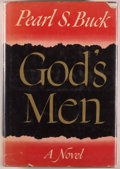 Books:Literature 1900-up, Pearl S. Buck. God's Men. New York: John Day, [1951]. Firstedition. Octavo. 375 pages. Publisher's binding, price-c...