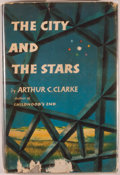 Books:Science Fiction & Fantasy, Arthur C. Clarke. The City and the Stars. New York: Harcourt, Brace, [1956]. First edition. Octavo. 184 pages. Publi...