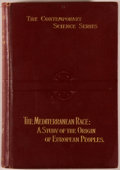 Books:Social Sciences, G. Sergi. The Mediterranean Race: A Study of the Origin ofEuropean Peoples. London: Scott, 1901. First edition. Oct...