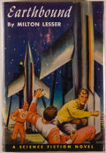 Books:Science Fiction & Fantasy, [Jerry Weist]. Milton Lesser. Group of Two Editions of Earthbound, including: Philadelphia: Winston, [1952]. First e... (Total: 2 Items)