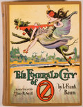 Books:Children's Books, L. Frank Baum. The Emerald City of Oz. Chicago: Reilly &Lee, [1910, actually ca. 1940]. Reprint. Octavo. [296] page...