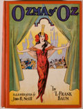 Books:Children's Books, L. Frank Baum. Ozma of Oz. Chicago: Reilly & Lee, [1907,actually ca. 1935]. Reprint. Octavo. 270 pages. Illustrated...