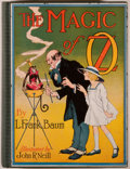 Books:Children's Books, L. Frank Baum. The Magic of Oz. Chicago: Reilly & Lee,[1919, actually ca. 1939]. Reprint. Octavo. [266] pages. Illu...