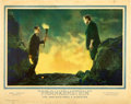 "Movie Posters:Horror, Frankenstein (Universal, 1931). MP Graded Lobby Card (11"" X 14"")....."