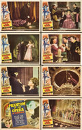 "Movie Posters:Horror, Phantom of the Opera (Universal, 1943). Lobby Card Set of 8 (oneAutographed) (11"" X 14"").. ... (Total: 8 Items)"