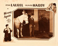 """Movie Posters:Comedy, Wrong Again (MGM, 1929). Lobby Card (11"""" X 14"""").. ..."""