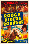 """Movie Posters:Western, Rough Riders Round-up (Republic, 1939). One Sheet (27"""" X 41"""").. ..."""