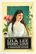 "Movie Posters:Comedy, Puppy Love (Paramount, 1919). One Sheet (27"" X 41"").. ..."