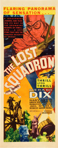 "Movie Posters:Drama, The Lost Squadron (RKO, 1932). Insert (14"" X 36"").. ..."