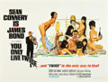 "Movie Posters:James Bond, You Only Live Twice (United Artists, 1967). British Quad (30"" X 40"") Style C.. ..."
