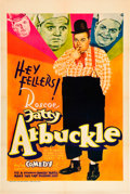 "Movie Posters:Comedy, Roscoe 'Fatty' Arbuckle (Vitaphone, 1932). Stock One Sheet (27"" X41"").. ..."