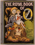 Books:Children's Books, L. Frank Baum. The Royal Book of Oz. Enlarged and Edited byRuth Plumly Thompson. Chicago: Reilly & Lee, [1921]. Fir...