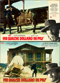 "Movie Posters:Western, For a Few Dollars More (PEA, 1965). Italian Photobustas (6) (26.5""X 18"").. ... (Total: 6 Items)"