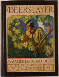 Books:Color-Plate Books, N. C. Wyeth [illustrator]. James Fenimore Cooper. TheDeerslayer. New York: Scribners, 1925. First edition, firstpr...