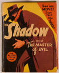 Books:Children's Books, [Big Little Book]. Erwin L. Hess [illustrator]. Maxwell Grant.The Shadow and the Master of Evil. Racine: Whitman, [...