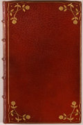 Books:Fiction, John Cleland. Memoirs of a Woman of Pleasure (Fanny Hill).Paris: Isidore Liseux, 1890. Later edition. Twelvemo. 319...