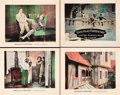 """Movie Posters:Adventure, His Majesty, the American (United Artists, 1919). Title Lobby Cardand Lobby Cards (3) (11"""" X 14"""").. ... (Total: 4 Items)"""