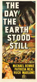 "Movie Posters:Science Fiction, The Day the Earth Stood Still (20th Century Fox, 1951). AustralianDaybill (13.5"" X 30"").. ..."