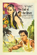 """Movie Posters:Foreign, The End of the River (Eagle Lion, 1948). British One Sheet (27"""" X 40"""").. ..."""