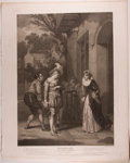 Books:Prints & Leaves, Engraved Print from Boydell's Shakespeare Entitled, MerryWives of Windsor. Cheapside: J. & J. Boydell, ...