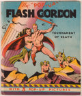 Books:Children's Books, [Pop-Up Book]. Alex Raymond. Flash Gordon: The Tournament ofDeath. Chicago: Pleasure Books, [1935]. Illustrated pop...