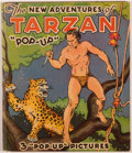 "Books:Children's Books, [Pop-Up Book]. Edgar Rice Burroughs. The New Adventures ofTarzan ""Pop-Up"". Chicago: Pleasure Books, [1935]. Illustr..."