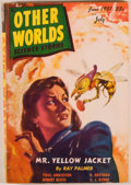 Books:Pulps, [Danton Burroughs]. Group of Two Issues of Other Worlds ScienceStories. Evanston: Clark Publishing, [1950-1951]... (Total: 2Items)