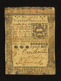 Colonial Notes:Pennsylvania, Pennsylvania October 1, 1773 15s Very Fine.. ...