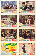 """Movie Posters:Comedy, Sons of the Desert (Film Classics, R-1940s). Lobby Card Set of 8(11"""" X 14"""").. ... (Total: 8 Items)"""