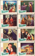 """Movie Posters:Horror, The Uninvited (Paramount, 1944). Lobby Card Set of 8 (11"""" X 14"""")..... (Total: 8 Items)"""