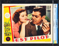"Movie Posters:Action, Test Pilot (MGM, 1938). CGC Graded Lobby Card (11"" X 14"").. ..."