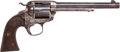 Military & Patriotic:Indian Wars, Colt Bisley Single Action Revolver c1907....