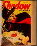 Pulps:Hero, Shadow Bound Volumes (Street & Smith, 1937-38).... (Total: 4 Items)