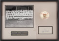 Autographs:Baseballs, 1961 New York Yankees Team Signed Baseball with Roger Maris SignedIndex Card....