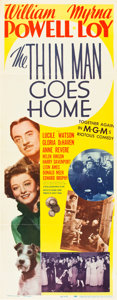 "Movie Posters:Mystery, The Thin Man Goes Home (MGM, 1945). Insert (14"" X 36"").. ..."