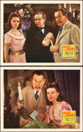 "Movie Posters:Mystery, Castle in the Desert (20th Century Fox, 1942). Lobby Cards (2) (11"" X 14"").. ... (Total: 2 Items)"