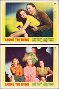 """Movie Posters:Film Noir, Among the Living (Paramount, 1941). Lobby Cards (2) (11"""" X 14"""").. ... (Total: 2 Items)"""