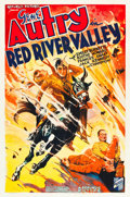 """Movie Posters:Western, Red River Valley (Republic, 1936). One Sheet (27"""" X 41"""").. ..."""